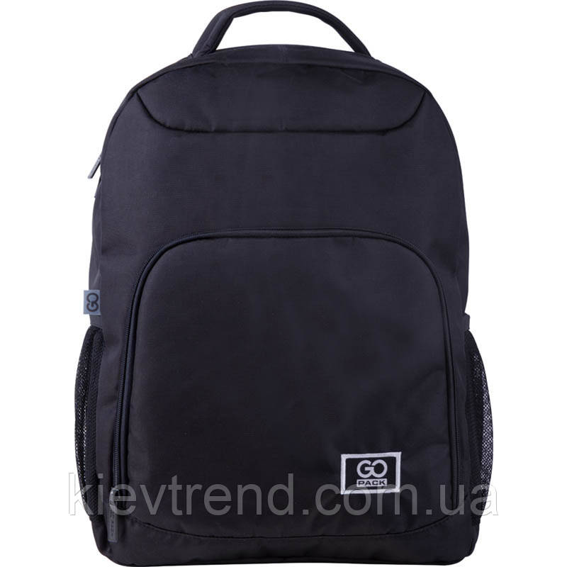 Рюкзак подростковый GoPack Сity 163-1 черный go21-163l-1