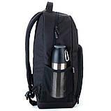 Рюкзак подростковый GoPack Сity 163-1 черный go21-163l-1, фото 2