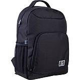 Рюкзак подростковый GoPack Сity 163-1 черный go21-163l-1, фото 3