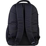 Рюкзак подростковый GoPack Сity 163-1 черный go21-163l-1, фото 4