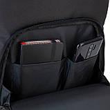 Рюкзак подростковый GoPack Сity 163-1 черный go21-163l-1, фото 9