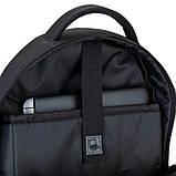 Рюкзак подростковый GoPack Сity 163-1 черный go21-163l-1, фото 10