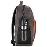 Рюкзак подростковый GoPack Сity 163-2 хаки go21-163l-2, фото 2