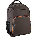 Рюкзак подростковый GoPack Сity 163-2 хаки go21-163l-2, фото 3