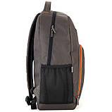 Рюкзак подростковый GoPack Сity 163-2 хаки go21-163l-2, фото 6