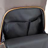 Рюкзак подростковый GoPack Сity 163-2 хаки go21-163l-2, фото 8