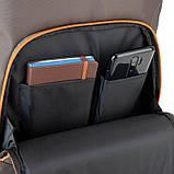 Рюкзак подростковый GoPack Сity 163-2 хаки go21-163l-2, фото 9