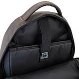 Рюкзак подростковый GoPack Сity 163-2 хаки go21-163l-2, фото 10