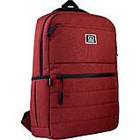 Рюкзак підлітковий GoPack Сity 167-2 бордовий go21-167m-2, фото 2