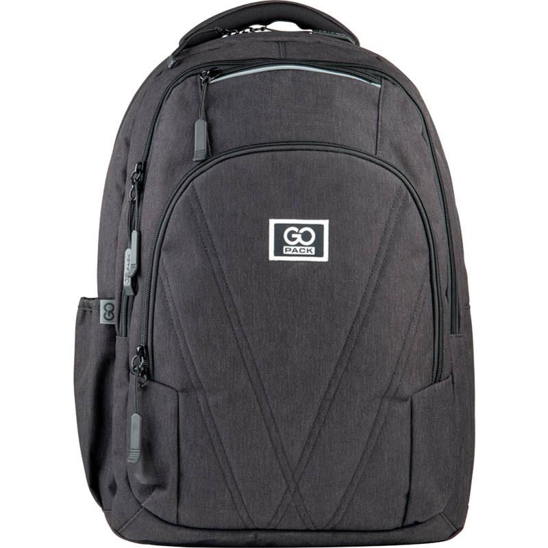 Рюкзак подростковый GoPack Сity 171-1 черный go21-171l-1