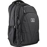 Рюкзак подростковый GoPack Сity 171-1 черный go21-171l-1, фото 2