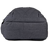 Рюкзак подростковый GoPack Сity 171-1 черный go21-171l-1, фото 3
