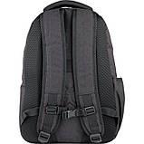 Рюкзак подростковый GoPack Сity 171-1 черный go21-171l-1, фото 4