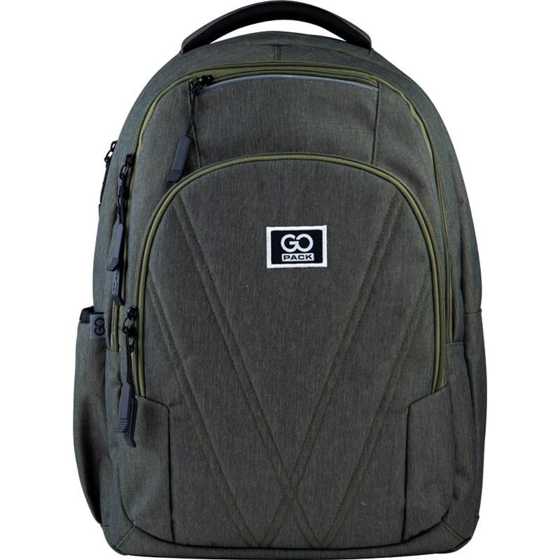 Рюкзак подростковый GoPack Сity 171-2 зеленый go21-171l-2