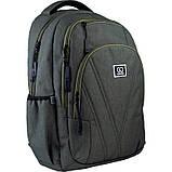 Рюкзак подростковый GoPack Сity 171-2 зеленый go21-171l-2, фото 2