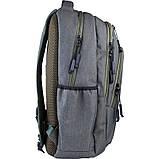 Рюкзак подростковый GoPack Сity 171-2 зеленый go21-171l-2, фото 5