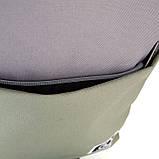 Рюкзак підлітковий GoPack Сity 173-3 сірий, хакі go21-173l-3, фото 7