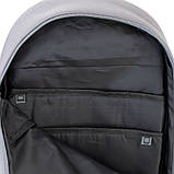 Рюкзак подростковый GoPack Сity 173-3 серый, хаки go21-173l-3, фото 8