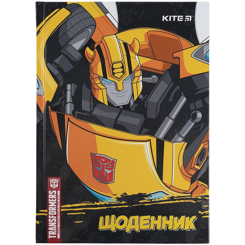 Дневник школьный, твердая обкл, Transformers-1 tf21-262-1