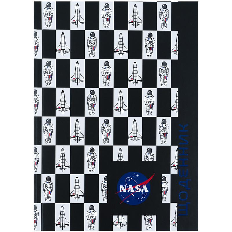 Щоденник шкільний, тверда обкл, NASA-1 ns21-262-1