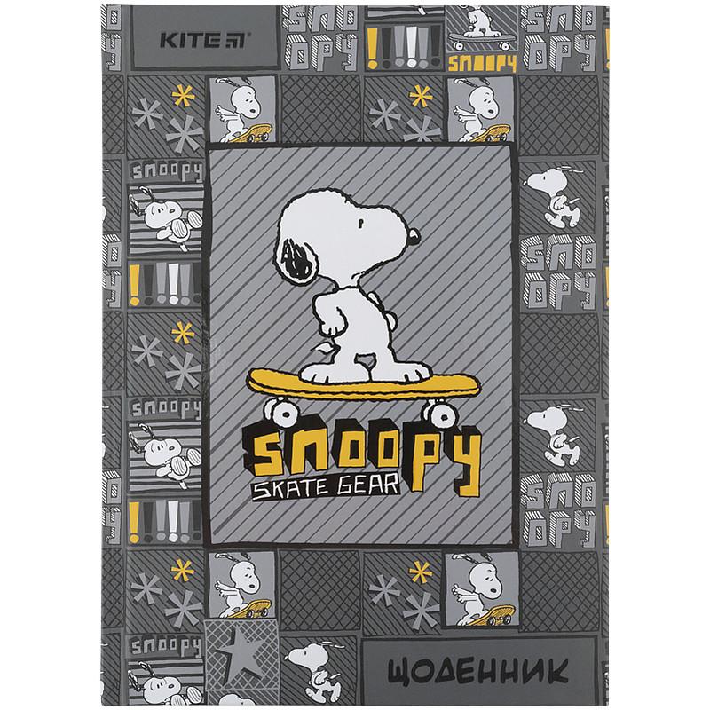Дневник школьный, твердая обкл, Snoopy - 2 sn21-262-2