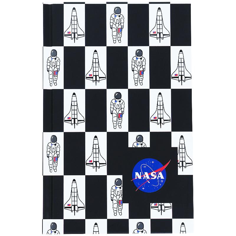 Книга записная твердая обкл. в клетку А6, 80арк. в клеточку NASA-1 ns21-199-1