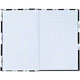 Книга записная твердая обкл. в клетку А6, 80арк. в клеточку NASA-1 ns21-199-1, фото 4