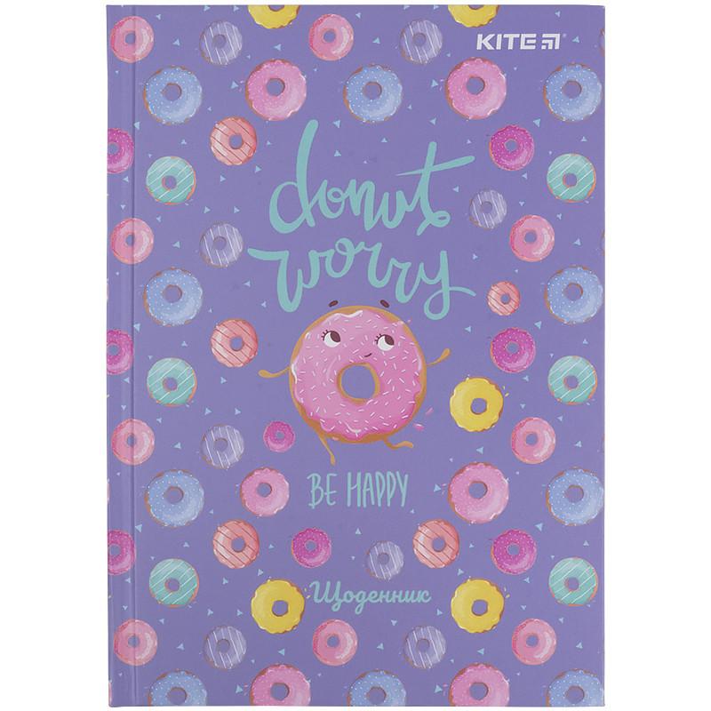 Щоденник шкільний, тверда обкл, Donut k21-262-9