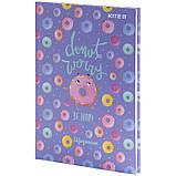 Щоденник шкільний, тверда обкл, Donut k21-262-9, фото 2