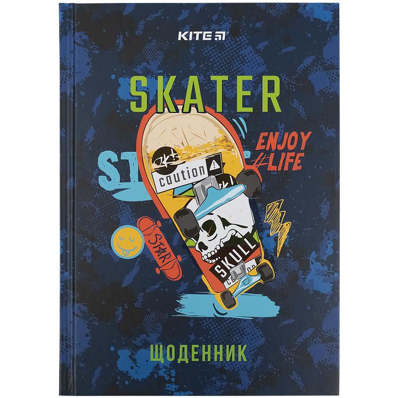 Дневник школьный, твердая обкл, Skate k21-262-6