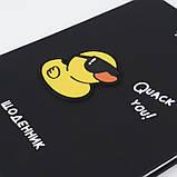 Щоденник шкільний, тверда обкл. в клітинку PU, Duck k21-264-1, фото 6