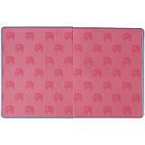 Дневник школьный, твердая обкл. в клеточку PU, Elephant k21-264-4, фото 5