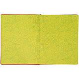 Дневник школьный, мягкая обкл. в клеточку PU, Fox k21-283-4, фото 5