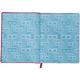 Дневник школьный, мягкая обкл. в клеточку PU, Style k21-283-3, фото 5