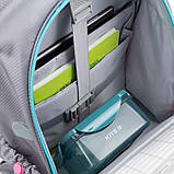 Набір для першого класу рюкзак + пенал + сумка для взуття WK 702 рожево-блак. set_wk21-702m-1, фото 2