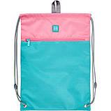 Набір для першого класу рюкзак + пенал + сумка для взуття WK 702 рожево-блак. set_wk21-702m-1, фото 7