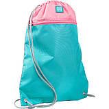 Набір для першого класу рюкзак + пенал + сумка для взуття WK 702 рожево-блак. set_wk21-702m-1, фото 9