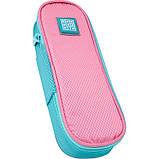 Набір для першого класу рюкзак + пенал + сумка для взуття WK 702 рожево-блак. set_wk21-702m-1, фото 10