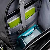 Набір для першого класу рюкзак + пенал + сумка для взуття WK 702 сірий set_wk21-702m-4, фото 2
