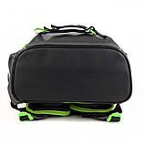 Набір для першого класу рюкзак + пенал + сумка для взуття WK 702 сірий set_wk21-702m-4, фото 6