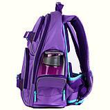 Набор для первого класса рюкзак + пенал + сумка для обуви WK 702 фиолетовый set_wk21-702m-3, фото 2