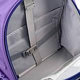 Набор для первого класса рюкзак + пенал + сумка для обуви WK 702 фиолетовый set_wk21-702m-3, фото 3