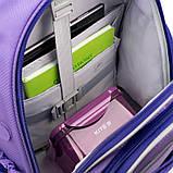 Набор для первого класса рюкзак + пенал + сумка для обуви WK 702 фиолетовый set_wk21-702m-3, фото 4