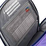Набор для первого класса рюкзак + пенал + сумка для обуви WK 702 фиолетовый set_wk21-702m-3, фото 5