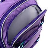 Набор для первого класса рюкзак + пенал + сумка для обуви WK 702 фиолетовый set_wk21-702m-3, фото 6
