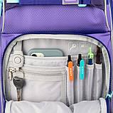 Набор для первого класса рюкзак + пенал + сумка для обуви WK 702 фиолетовый set_wk21-702m-3, фото 7