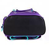 Набор для первого класса рюкзак + пенал + сумка для обуви WK 702 фиолетовый set_wk21-702m-3, фото 8
