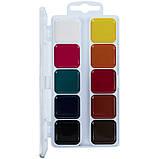 Фарби акварельні, без пензлика, 10 кольорів Hot Wheels hw21-060, фото 2