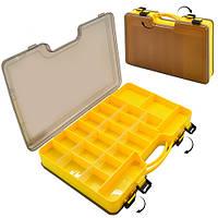 Коробка для снастей двусторонняя 29.5*21*6см SF24111