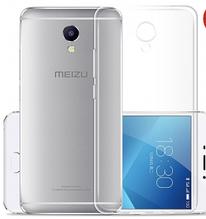 Чехол бампер для Meizu M5 Note прозрачный